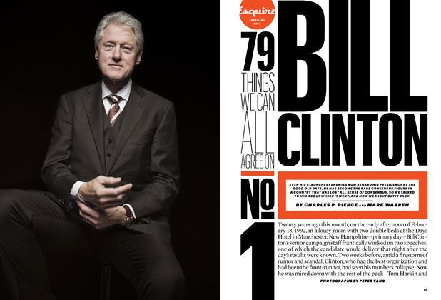 Article Preview: No. 1: Bill Clinton, February 2012 | Esquire