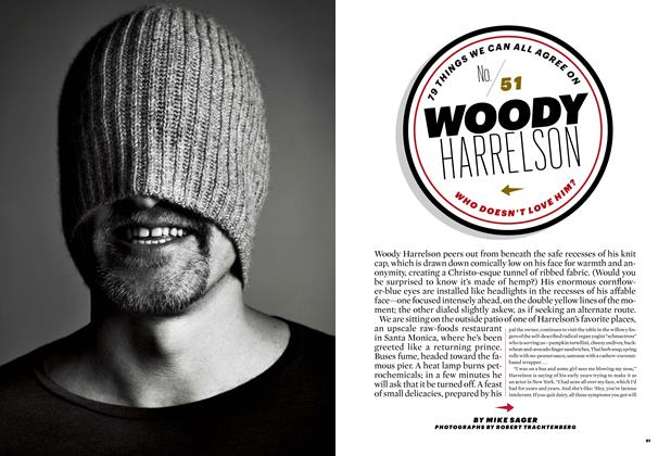 Article Preview: No. 51: Woody Harrelson, FEBRUARY 2012 2012 | Esquire