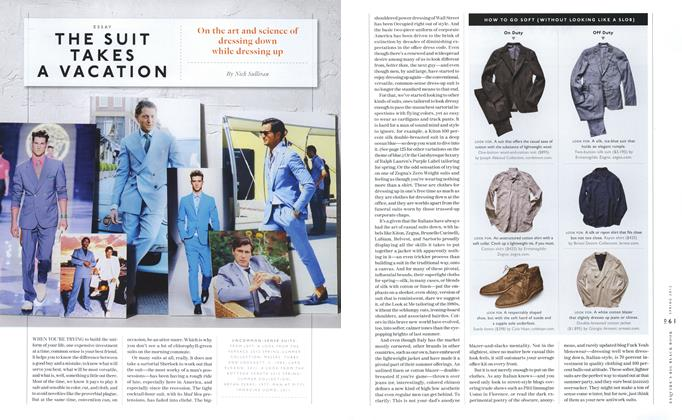 Article Preview: The Suit Takes a Vacation, SPRING/SUMMER 2012 2012 | Esquire