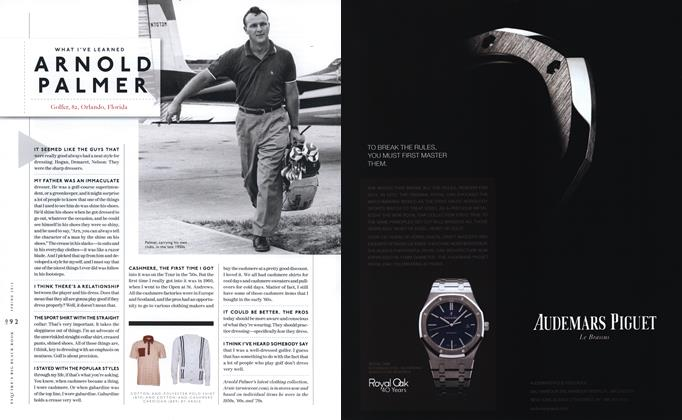 Article Preview: Arnold Palmer, SPRING/SUMMER 2012 2012 | Esquire