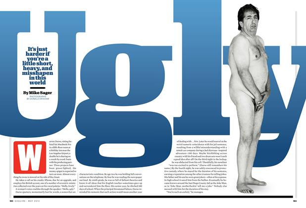 Article Preview: Ugly, MAY 2012 2012 | Esquire