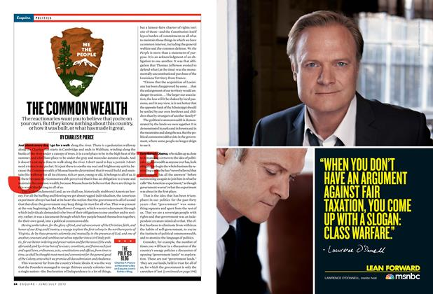 Article Preview: The Common Wealth, June/July 2012 | Esquire