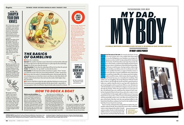 Article Preview: My Dad, My Boy, June/July 2012 | Esquire