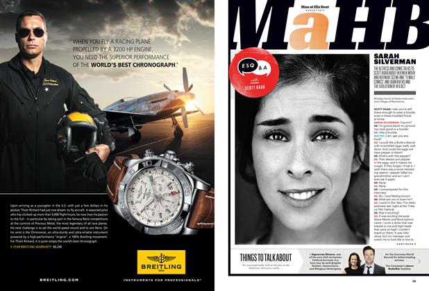 Article Preview: Sarah Silverman, August 2012 | Esquire