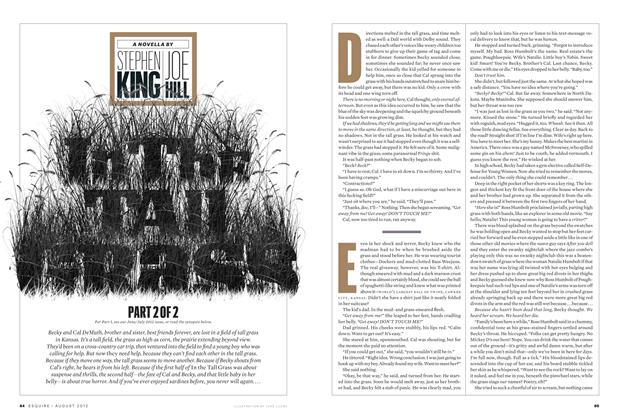 Article Preview: In the Tall Grass Part 2, August 2012 | Esquire