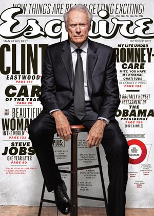 Cover for the October 2012 issue