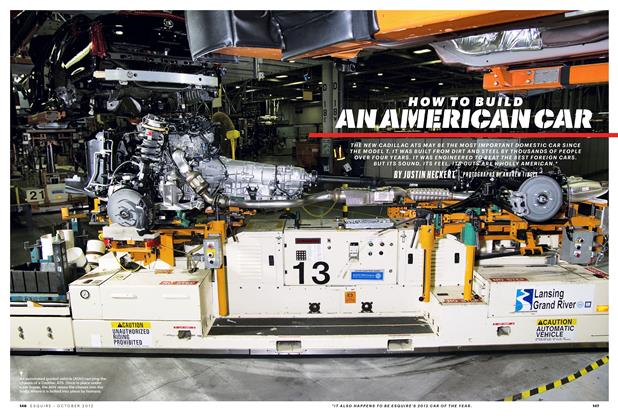 Article Preview: How to Build an American Car, October 2012 | Esquire