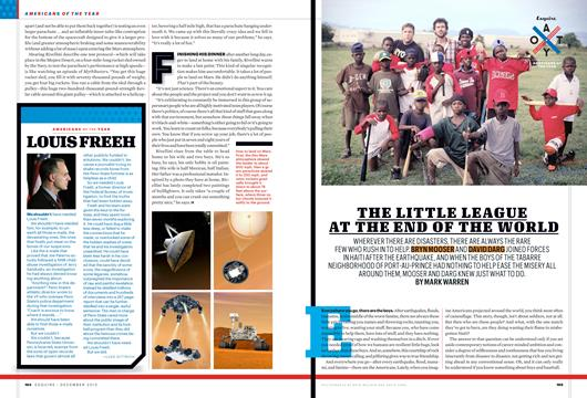 The Little League at the End of the World - December | Esquire