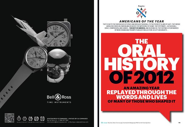 Article Preview: The Oral History of 2012, December 2012 | Esquire