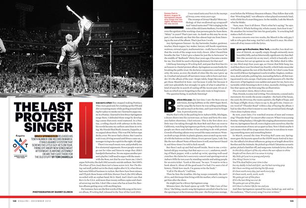 Article Preview: The Last Protest Singer, December 2012 | Esquire