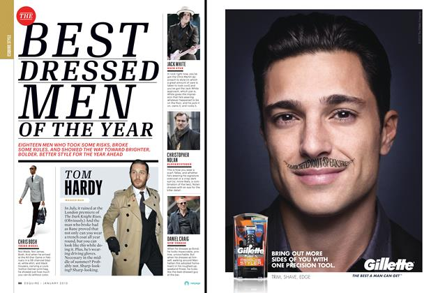The Best Dressed Men of the Year