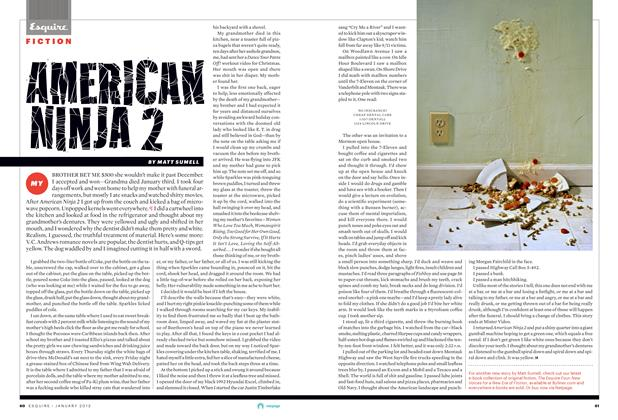 Article Preview: American Ninja 2, January 2013 | Esquire