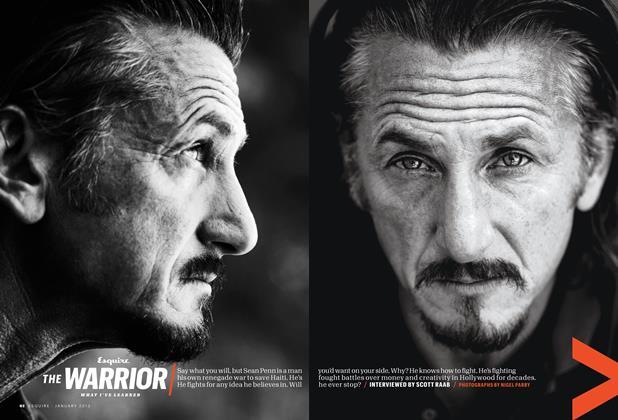 The Warrior: Sean Penn