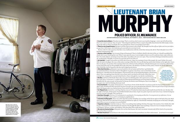 Article Preview: Lieutenant Brian Murphy, January 2013 | Esquire