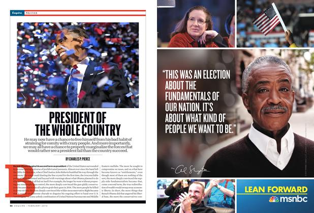 Article Preview: President of the Whole Country, FEBRUARY 2013 2013 | Esquire