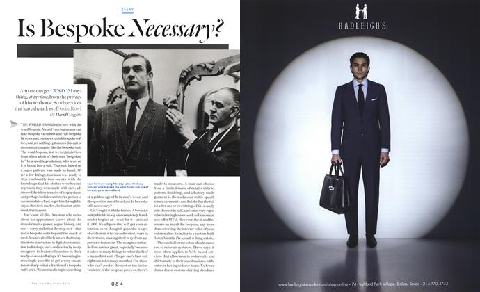Article Preview: Is Bespoke Necessary?, SPRING/SUMMER 2013 2013 | Esquire