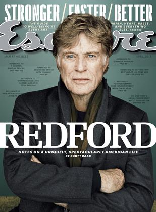 Cover for the April 2013 issue