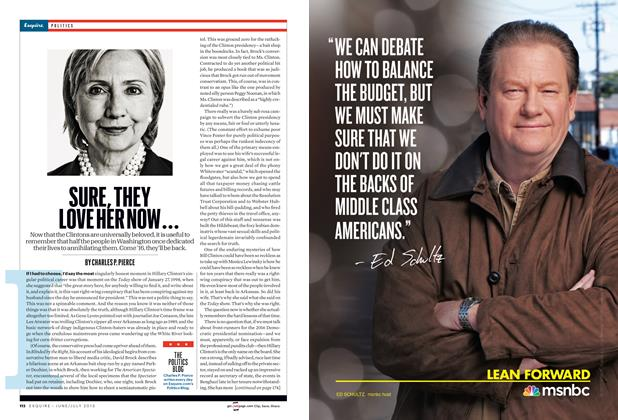 Article Preview: Sure, They Love Her Now..., June/July 2013 | Esquire
