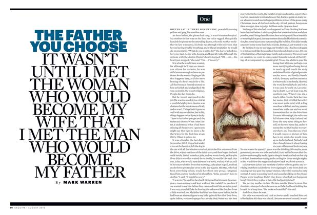 Article Preview: The Father You Choose, August 2013 | Esquire