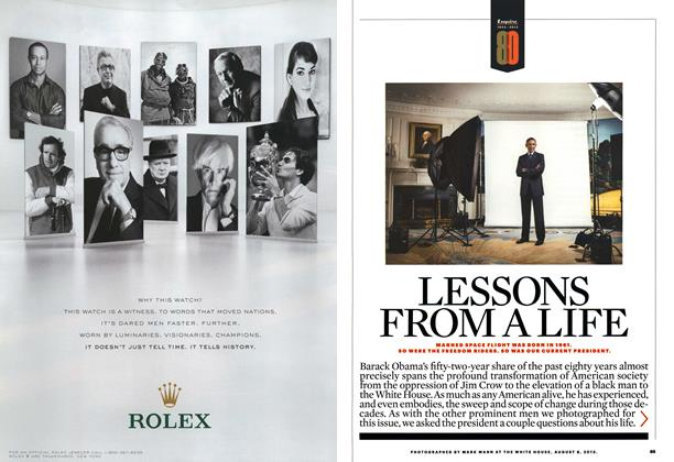 Article Preview: Lessons from a Life, OCTOBER 2013 2013 | Esquire