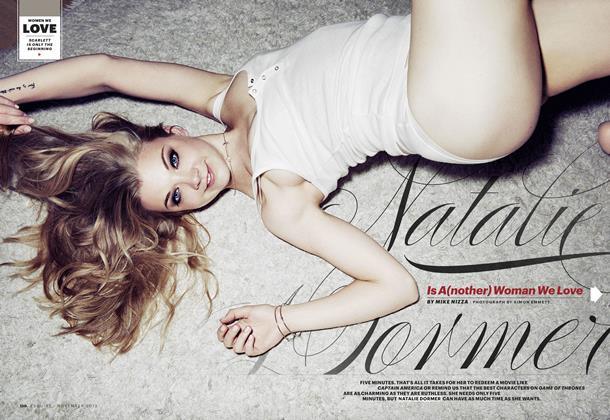 Article Preview: Natalie Dormer, NOV. 2013 2013   Esquire