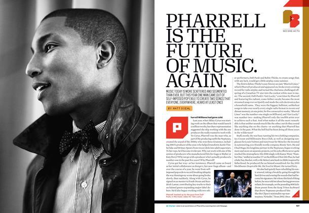 Pharrell is the Future of Music. Again.