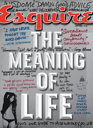 Cover for the January 2014 issue