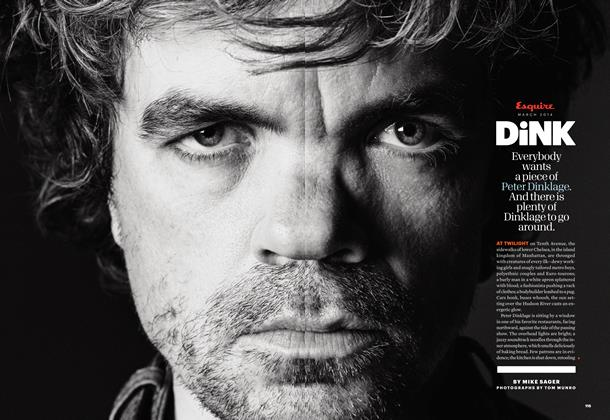 Article Preview: Dink, March 2014   Esquire