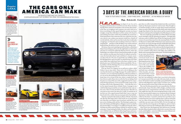 Article Preview: 3 Days of the American Dream: A Diary, May 2014 | Esquire