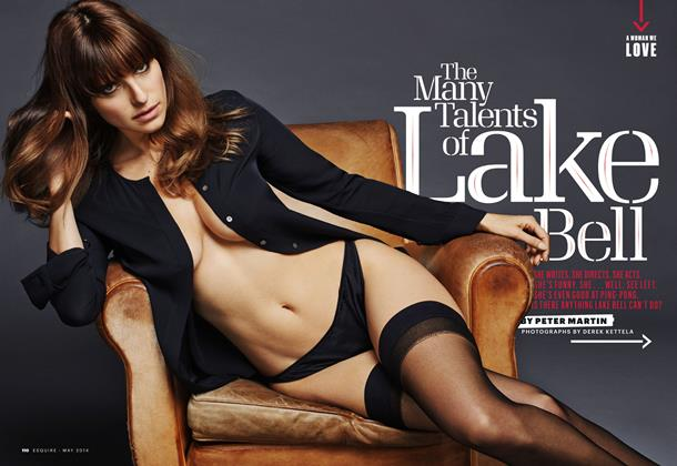 Article Preview: The Many Talents of Lake Bell, May 2014 | Esquire