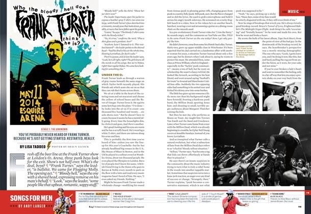 Article Preview: Songs for Men, May 2014 | Esquire