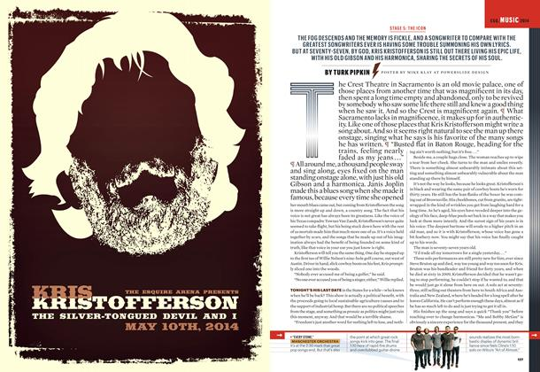 Article Preview: Kris Kristofferson, May 2014 | Esquire