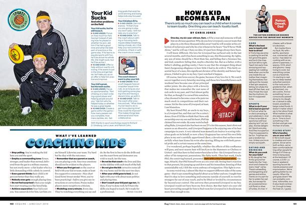 Article Preview: WHAT I'VE LEARNED COACHING KIDS, June 2014   Esquire