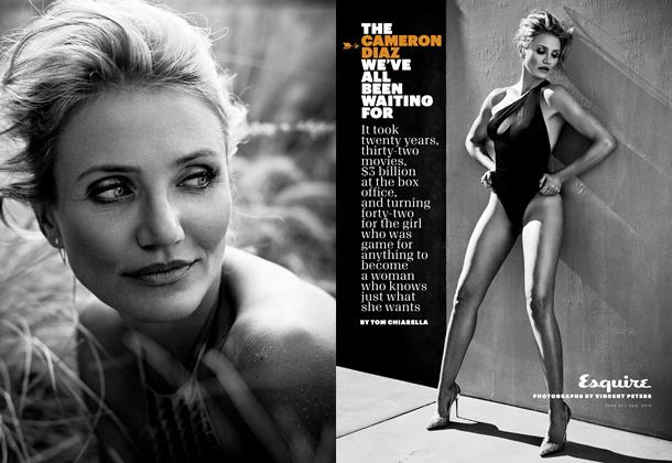 Article Preview: The Cameron Diaz We've All Been Waiting For, August 2014 | Esquire