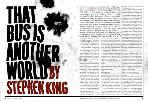 Article Preview: That Bus Is Another World, August 2014 | Esquire