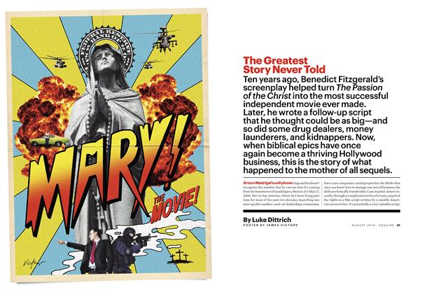 Article Preview: The Greatest Story Never Told, August 2014 | Esquire