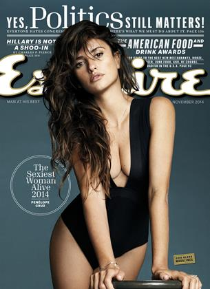Cover for the November 2014 issue