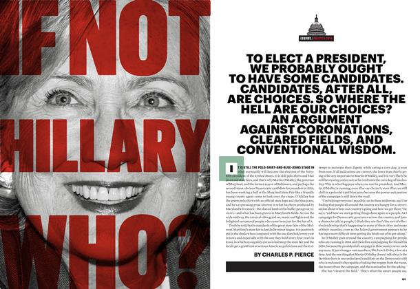Article Preview: If Not Hillary, Who?, November 2014 | Esquire