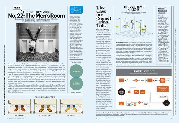 No. 22: The Men's Room