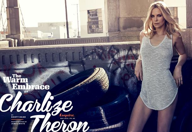 The Warm Embrace of Charlize Theron