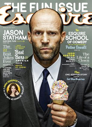 Cover for the June/July 2015 issue