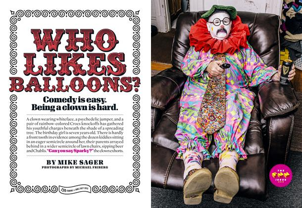 Article Preview: Who Likes Balloons?, JUNE/JULY 2015 2015 | Esquire