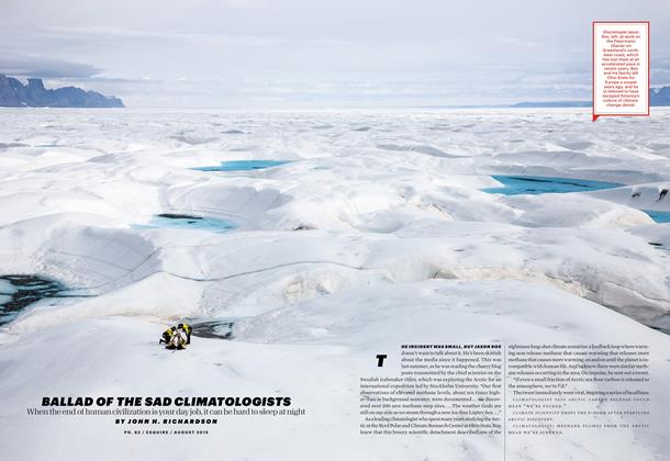 Article Preview: Ballad of the Sad Climatologists, AUGUST 2015 2015 | Esquire