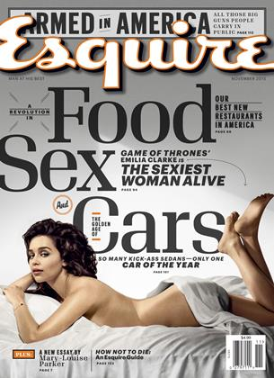 Cover for the November 2015 issue