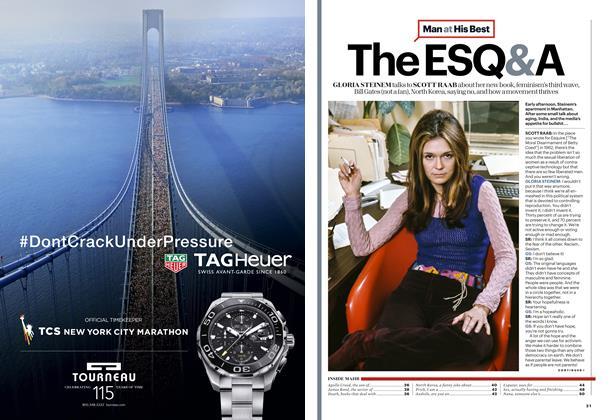 Article Preview: Gloria Steinem, NOVEMBER 2015 2015 | Esquire