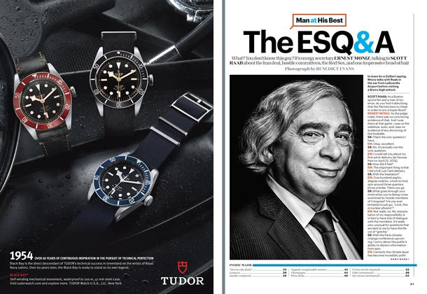 Article Preview: Ernest Moniz, December/January 2015 | Esquire