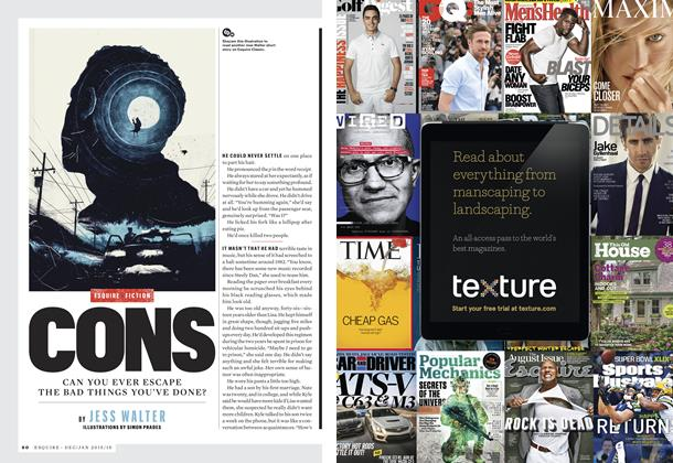 Article Preview: Cons, DEC/JAN 2015/16 2015 | Esquire