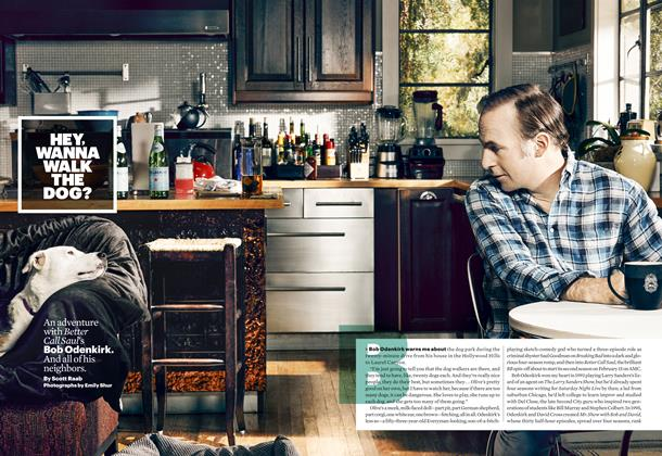 Article Preview: Hey, Wanna Walk the Dog? , February 2016 | Esquire