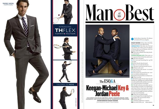 Article Preview: Keegan-Michael Key and Jordan Peele, April 2016 | Esquire