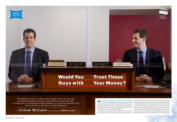 Article Preview: Would You Trust These Guys with Your Money?, April 2016 | Esquire